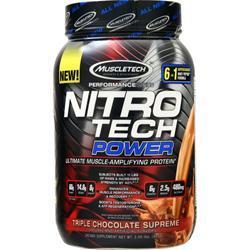 Muscletech Nitro Tech Power - Performance Series Triple Chocolate Supreme 2 lbs