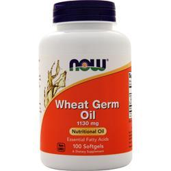 Now Wheat Germ Oil 100 sgels
