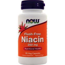 Now Flush-Free Niacin (250mg) 90 vcaps