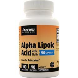 Jarrow Alpha Lipoic Acid with Biotin 90 caps
