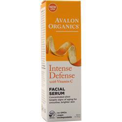 Avalon Organics Vitamin C Sun-Aging Defense Vitality Facial Serum 1 fl.oz
