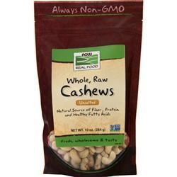 Now Whole, Raw Cashews  BEST BY 11/19 10 oz