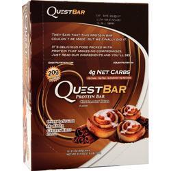Quest Nutrition Quest Natural Protein Bar Cinnamon Roll 12 bars