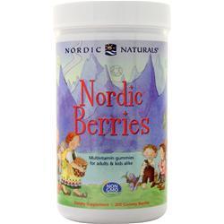 Nordic Naturals Nordic Berries 200 gummy