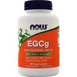 Now EGCg Green Tea Extract (400mg) 180 vcaps