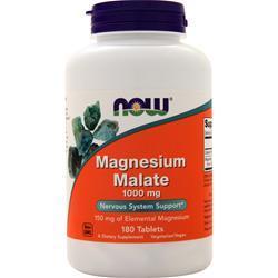 Now Magnesium Malate (1000mg) 180 tabs