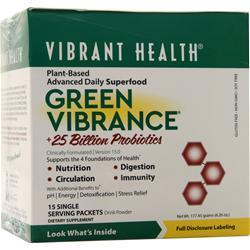 Vibrant Health Green Vibrance Powder 15 pckts