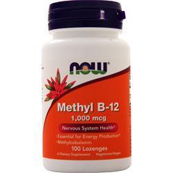 Now Methyl B-12 (1000mcg) 100 lzngs
