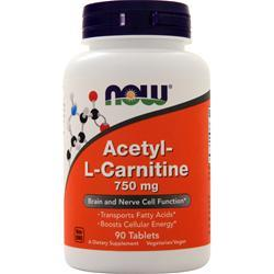 Now Acetyl-L Carnitine (750mg) 90 tabs