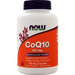 Now CoQ10 (60mg) 180 vcaps