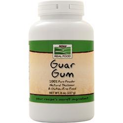 Now Guar Gum - 100% Pure Thickening Powder 8 oz