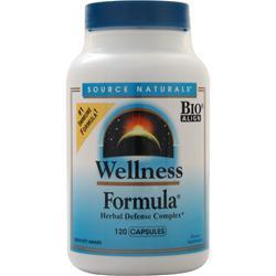 Source Naturals Wellness Formula 120 caps