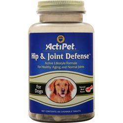 Actipet Hip & Joint Defense Natural Beef Flavor 60 chews