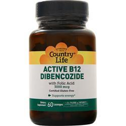Country Life Active B12 Dibencozide 60 lzngs