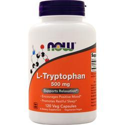 Now L-Tryptophan (500mg) 120 vcaps