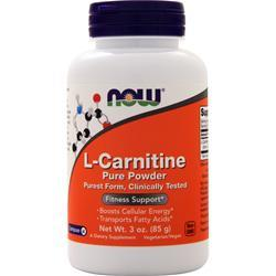 Now L-Carnitine 100% Pure Powder 3 oz
