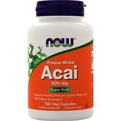 Now Acai (500mg) 100 vcaps