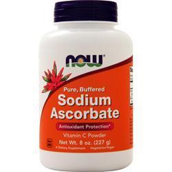 Now Sodium Ascorbate 8 oz