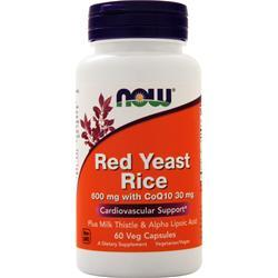 Now Red Yeast Rice with CoQ10 60 vcaps