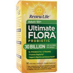 Renew Life Ultimate Flora - Senior Formula 30 Billion 90 vcaps