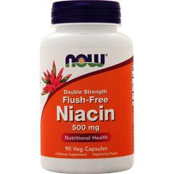 Now Flush-Free Niacin (500mg) 90 vcaps