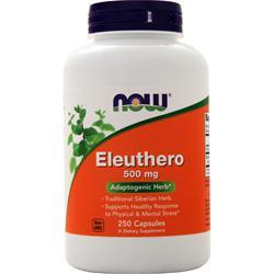 Now Eleuthero (500mg) 250 vcaps