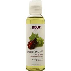 Now Grapeseed Oil 4 fl.oz