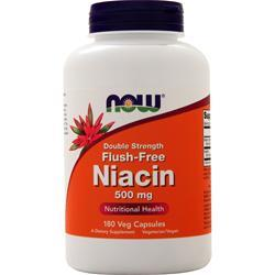 Now Flush-Free Niacin (500mg) 180 vcaps