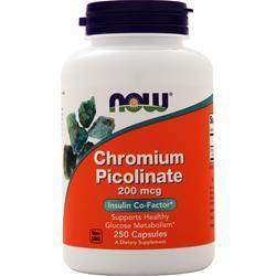 Now Chromium Picolinate (200mcg) 250 caps