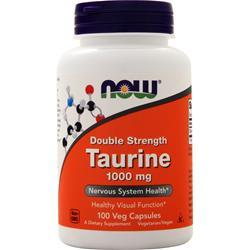 Now Double Strength Taurine (1000mg) 100 vcaps