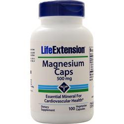 Life Extension Magnesium Caps (500mg) 100 vcaps