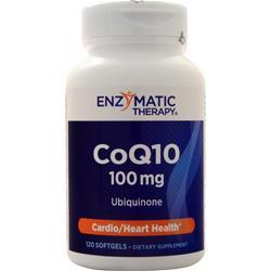 Enzymatic Therapy CoQ10 (100mg) 120 sgels