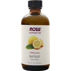 Now Lemon Oil (100% Pure & Natural) Citrus Limon 4 fl.oz