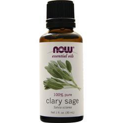 Now Clary Sage Oil 1 fl.oz