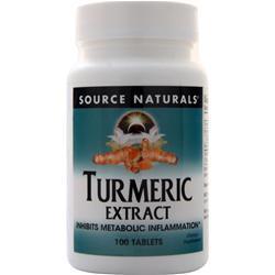 Source Naturals Turmeric Extract 100 tabs