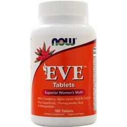 Now Eve - Women's Multivitamin 180 tabs