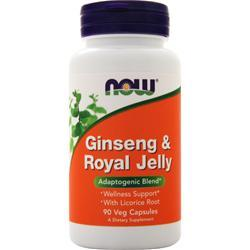 Now Ginseng & Royal Jelly 90 caps