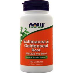 Now Echinacea & Goldenseal Root 100 caps