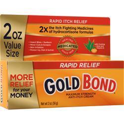 Chattem Gold Bond Maximum Relief Anti-Itch Cream 2 oz