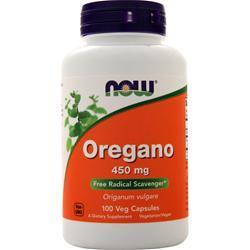 Now Oregano (450mg) 100 vcaps