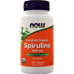 Now Spirulina 100 tabs