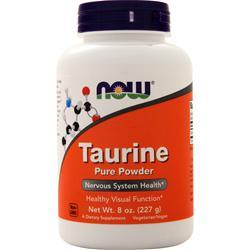 Now Taurine Powder 8 oz