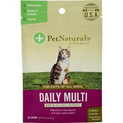 Pet Naturals Of Vermont Daily Multi for Cats of All Sizes 30 chews