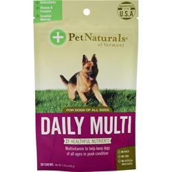 Pet Naturals Of Vermont Daily Multi for Dogs of All Sizes 30 chews
