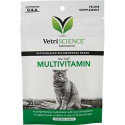 VetriScience Nu Cat Multivitamin 30 chews