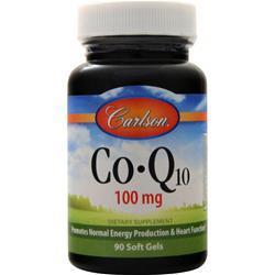 Carlson Co-Q10 (100mg) 90 sgels