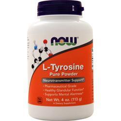 Now L-Tyrosine Powder 4 oz