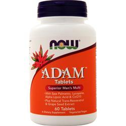 Now ADAM Men's Multivitamin 60 tabs