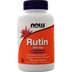Now Rutin (450mg) 100 vcaps