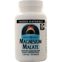 Source Naturals Magnesium Malate 90 tabs
